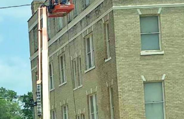 """""""This historic structure is on its way to being properly preserved!"""""""