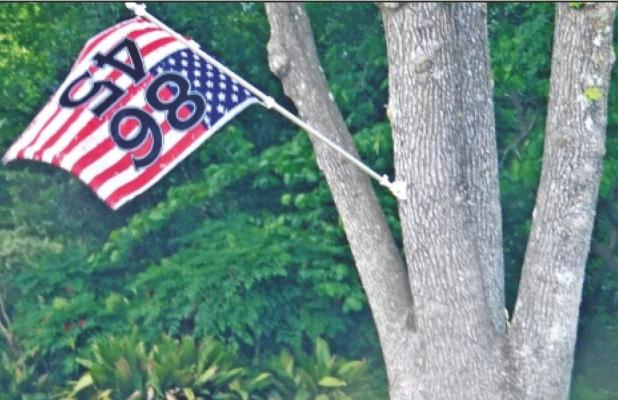 Political display causes uproar in Pittsburg