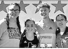 COURTESY PHOTO / ANN WALDREP Cross-Country racers Sadie Waldrep and Reid Hewitt competed in the UIL State Cross-Country race, Saturday Nov. 9, in Round Rock. Out of 150 racers both runners crossed the finish line in the middle of the pack. The two had wor