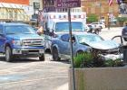 Crash occurs at downtown intersection